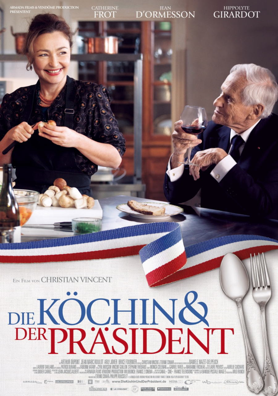 映画『大統領の料理人 (2012) LES SAVEURS DU PALAIS (原題) / HAUTE CUISINE (英題)』ポスター(4)▼ポスター画像クリックで拡大します。