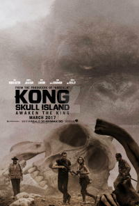 キングコング:髑髏島の巨神ポスター08画像 ▼画像クリックで拡大します@映画の森てんこ森