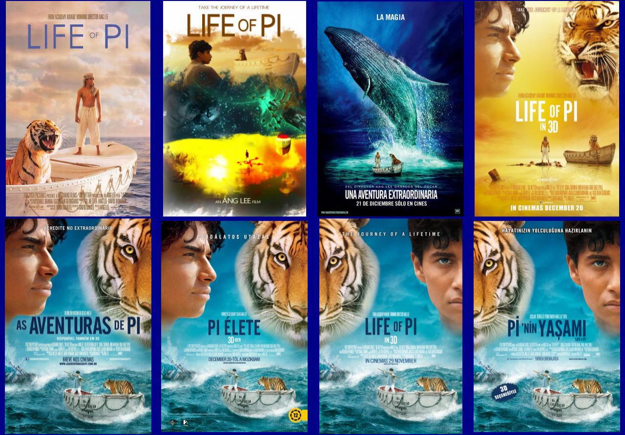 映画『ライフ・オブ・パイ/トラと漂流した227日 (2012) LIFE OF PI』ポスター(10)▼ポスター画像クリックで拡大します。