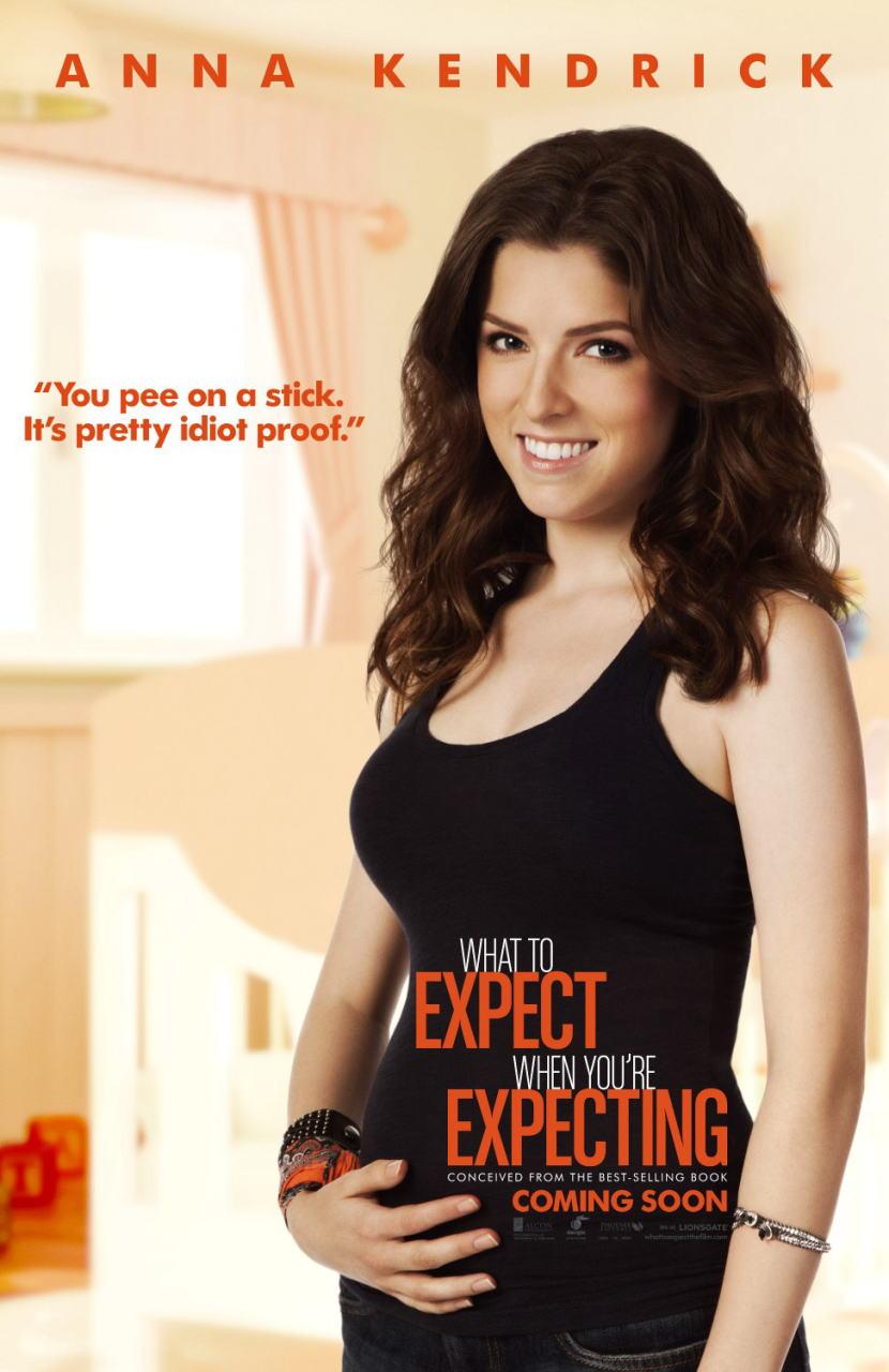 映画『恋愛だけじゃダメかしら? WHAT TO EXPECT WHEN YOU'RE EXPECTING』ポスター(6)▼ポスター画像クリックで拡大します。