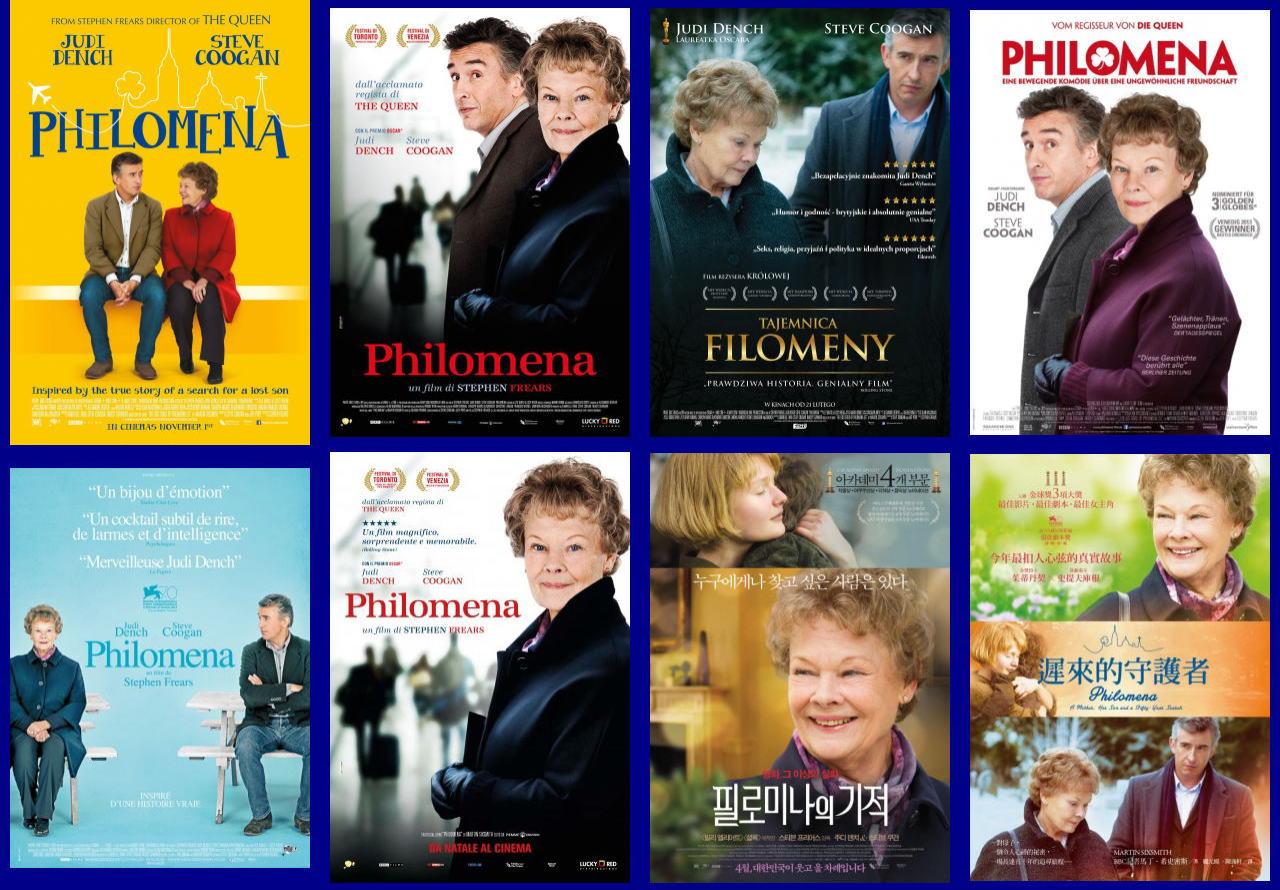 映画『あなたを抱きしめる日まで (2013) PHILOMENA』ポスター(3) ▼ポスター画像クリックで拡大します。