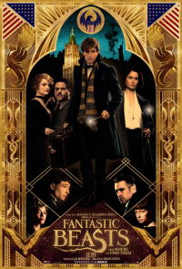 ファンタスティック・ビーストと魔法使いの旅ポスター02画像 ▼画像クリックで拡大します@映画の森てんこ森