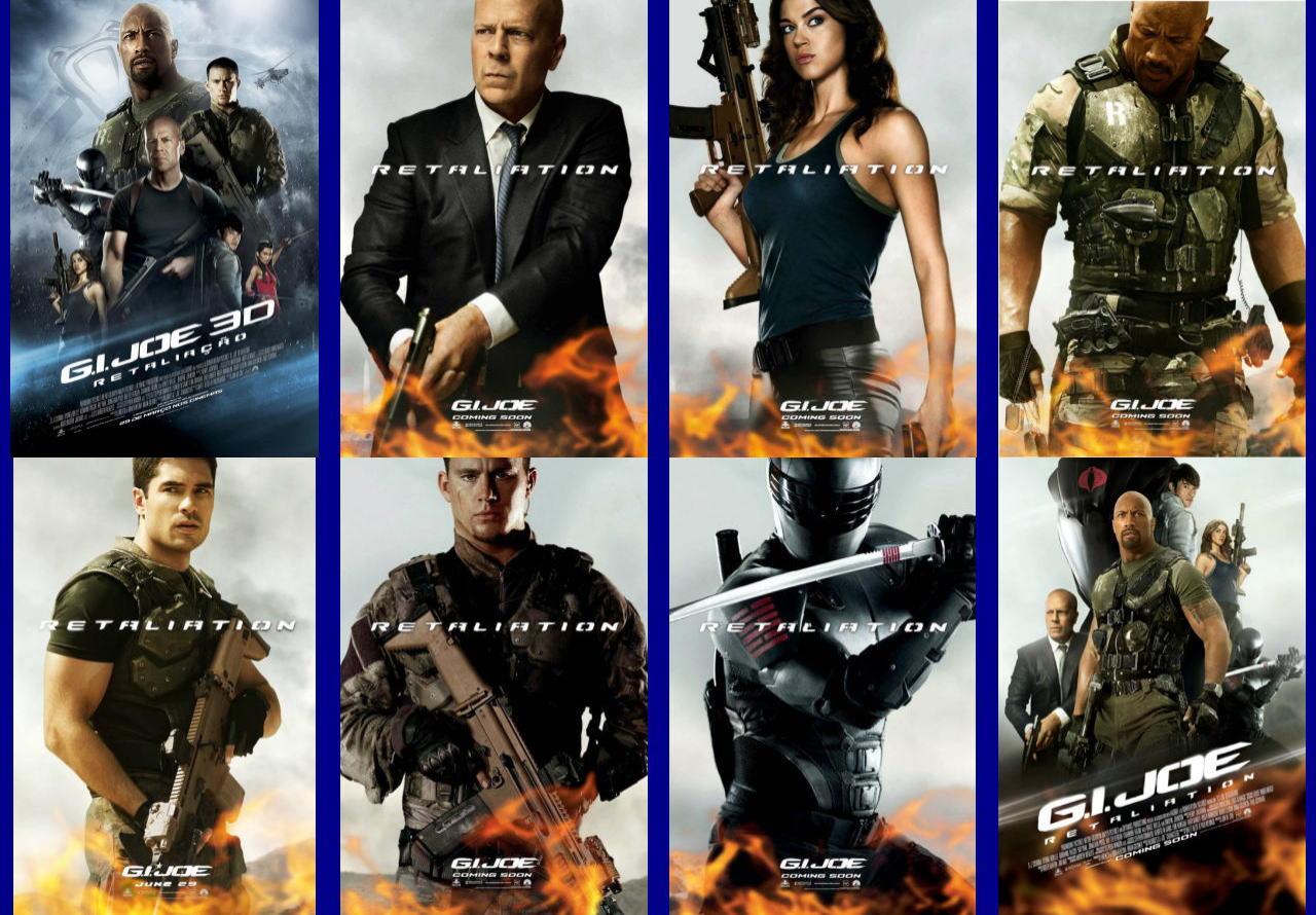 映画『G.I.ジョー バック2リベンジ (2013) G.I. JOE: RETALIATION』ポスター(9) ▼ポスター画像クリックで拡大します。