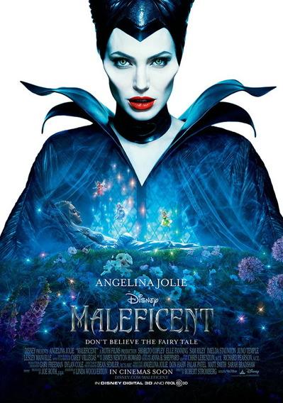 映画『マレフィセント (2014) MALEFICENT』ポスター(2)▼ポスター画像クリックで拡大します。