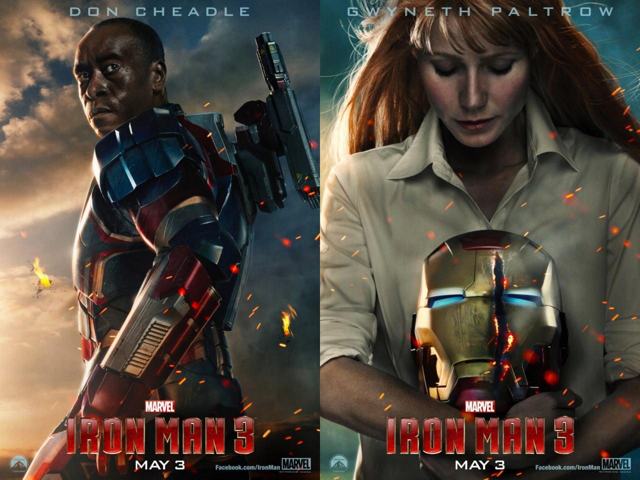 映画『アイアンマン3 (2013) IRON MAN 3』ポスター(7)▼ポスター画像クリックで拡大します。