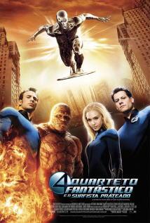 映画『 ファンタスティック・フォー:銀河の危機 (2007) FANTASTIC FOUR: RISE OF THE SILVER SURFER 』ポスター
