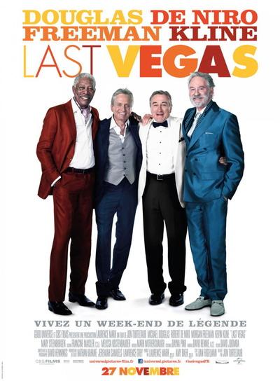 映画『ラスト・ベガス (2013) LAST VEGAS』ポスター(3) ▼ポスター画像クリックで拡大します。