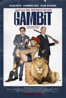 映画『 モネ・ゲーム (2012) GAMBIT 』ポスター