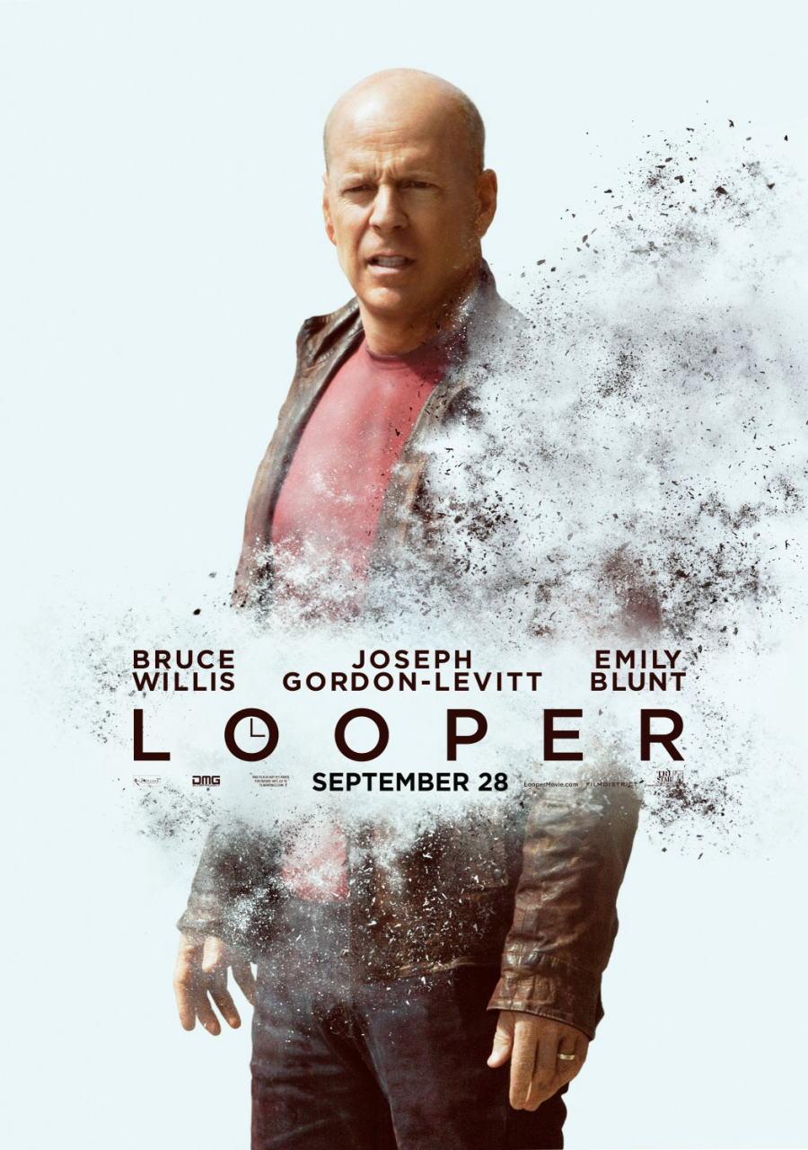 映画『LOOPER/ルーパー LOOPER』ポスター(3)▼ポスター画像クリックで拡大します。