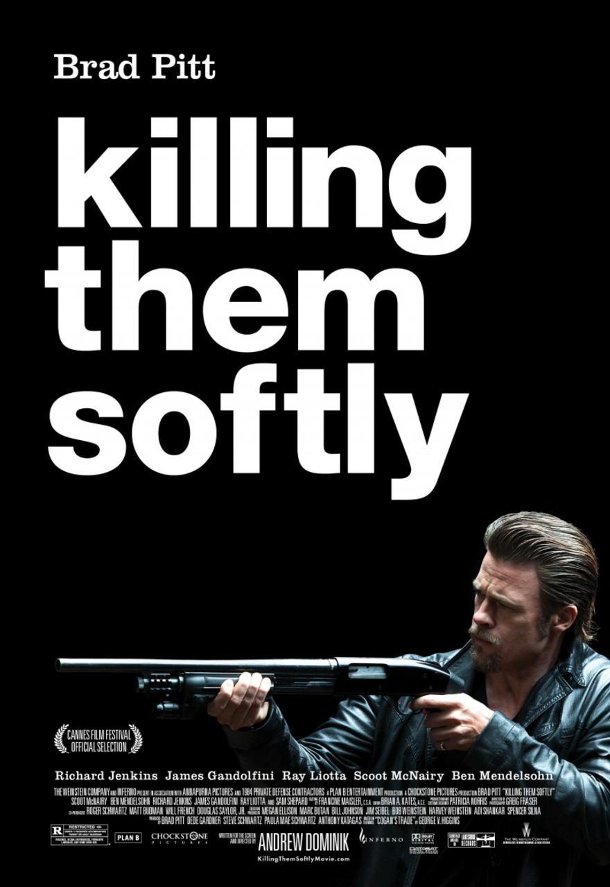 映画『ジャッキー・コーガン KILLING THEM SOFTLY』ポスター(1)▼ポスター画像クリックで拡大します。