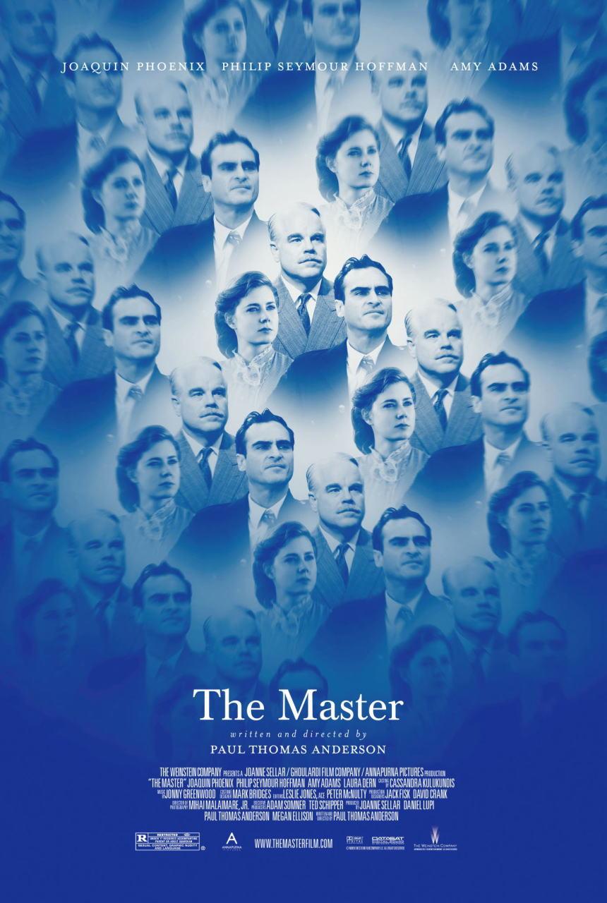 映画『ザ・マスター THE MASTER』ポスター(1)▼ポスター画像クリックで拡大します。