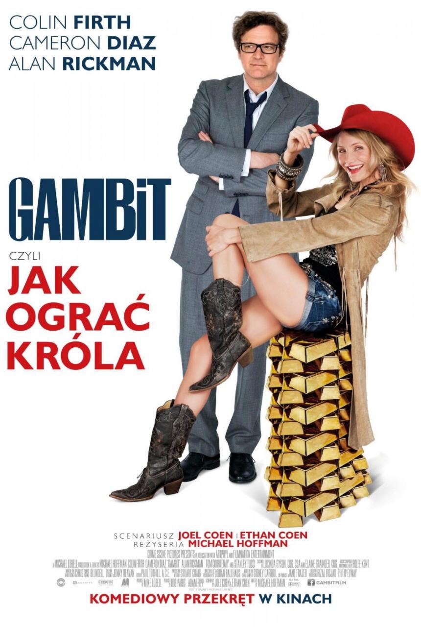 映画『モネ・ゲーム (2012) GAMBIT』ポスター(3)▼ポスター画像クリックで拡大します。