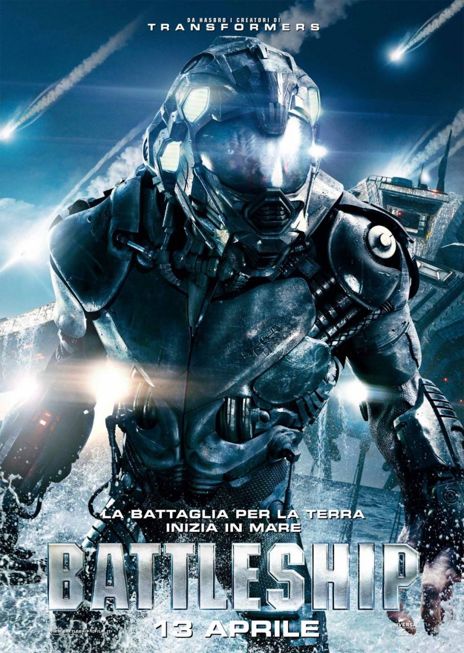 映画『バトルシップ BATTLESHIP』ポスター(7)▼ポスター画像クリックで拡大します。