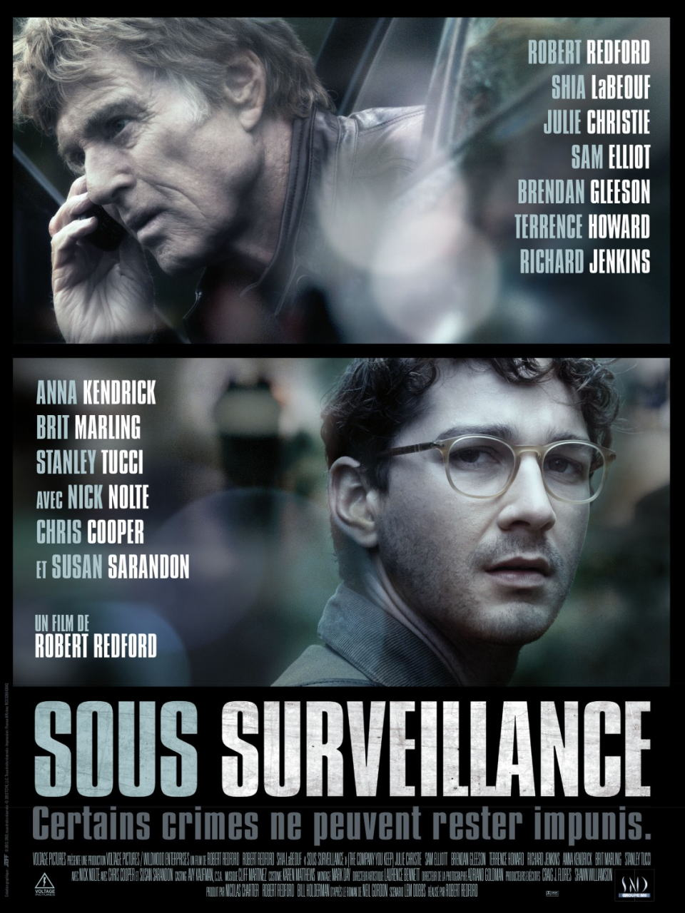 映画『ランナウェイ/逃亡者 (2012) THE COMPANY YOU KEEP』ポスター(2)▼ポスター画像クリックで拡大します。