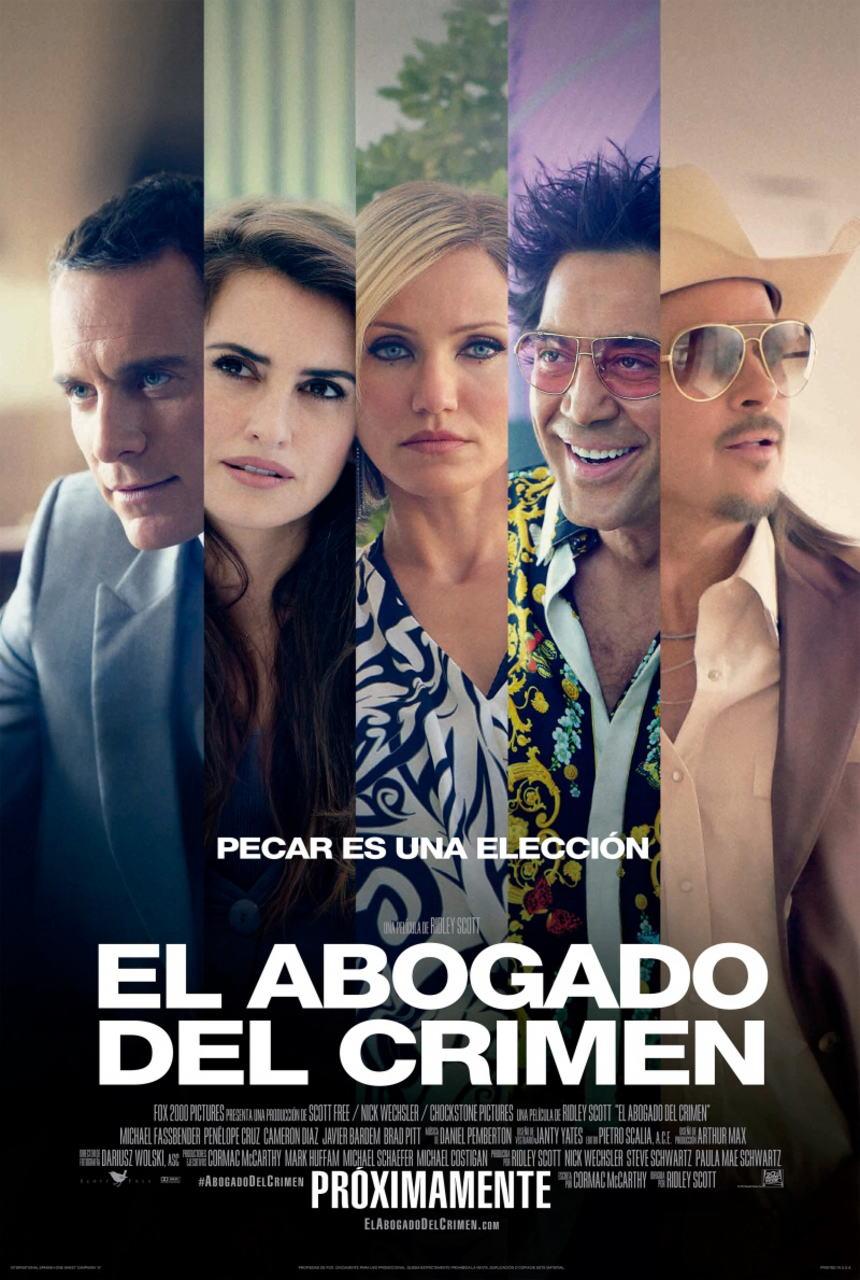 映画『悪の法則 (2013) THE COUNSELOR』ポスター(2)▼ポスター画像クリックで拡大します。