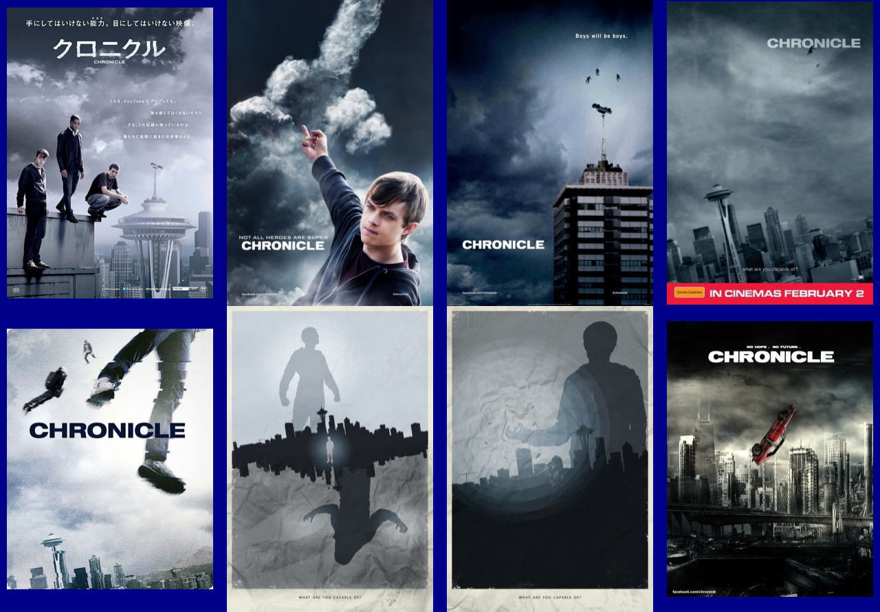 映画『クロニクル (2012) CHRONICLE』ポスター(4) ▼ポスター画像クリックで拡大します。