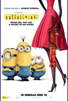 映画『 ミニオンズ (2015) MINIONS 』ポスター