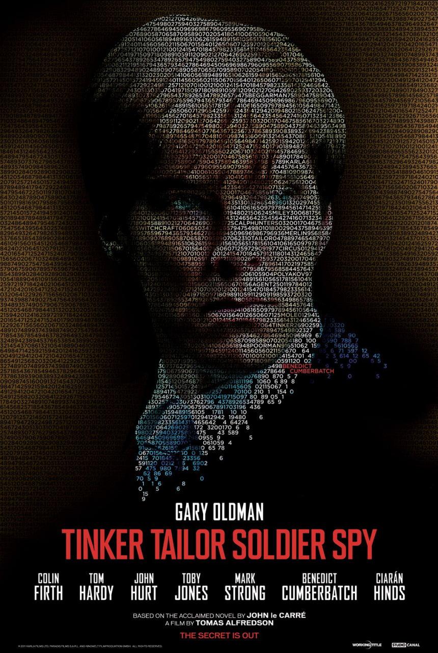 映画『裏切りのサーカス TINKER TAILOR SOLDIER SPY』ポスター(7) ▼ポスター画像クリックで拡大します。