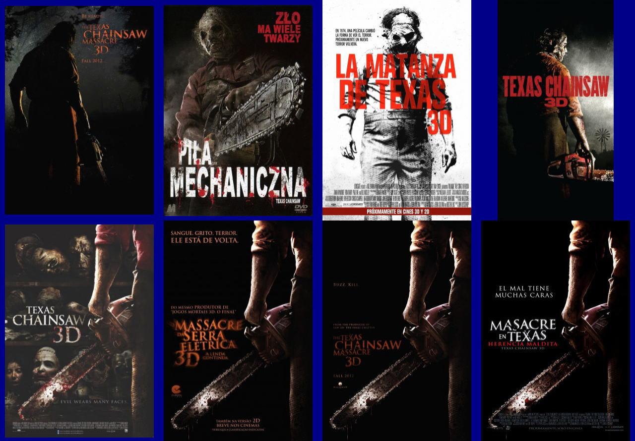 映画『飛びだす 悪魔のいけにえ レザーフェイス一家の逆襲 TEXAS CHAINSAW 3D』ポスター(5)▼ポスター画像クリックで拡大します。