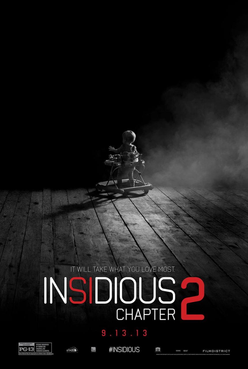 映画『インシディアス 第2章 (2013) INSIDIOUS: CHAPTER 2』ポスター(2) ▼ポスター画像クリックで拡大します。