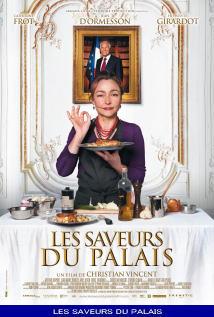 映画『 大統領の料理人 (2012) LES SAVEURS DU PALAIS / HAUTE CUISINE 』ポスター