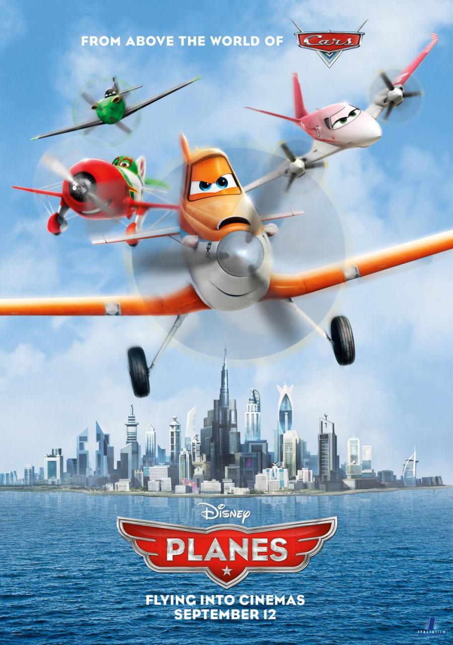 映画『プレーンズ (2013) PLANES』ポスター(2) ▼ポスター画像クリックで拡大します。