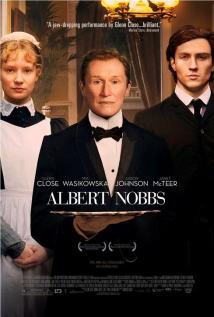 映画『 アルバート氏の人生 (2011) ALBERT NOBBS 』ポスター