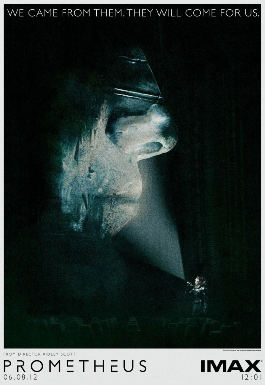映画『プロメテウス PROMETHEUS』ポスター(3)▼ポスター画像クリックで拡大します。