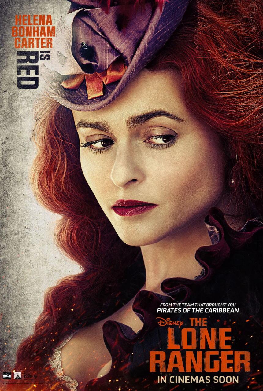 映画『ローン・レンジャー (2013) THE LONE RANGER』ポスター(4)▼ポスター画像クリックで拡大します。