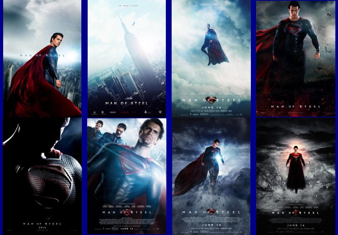映画『マン・オブ・スティール (2013) MAN OF STEEL』ポスター(10) ▼ポスター画像クリックで拡大します。