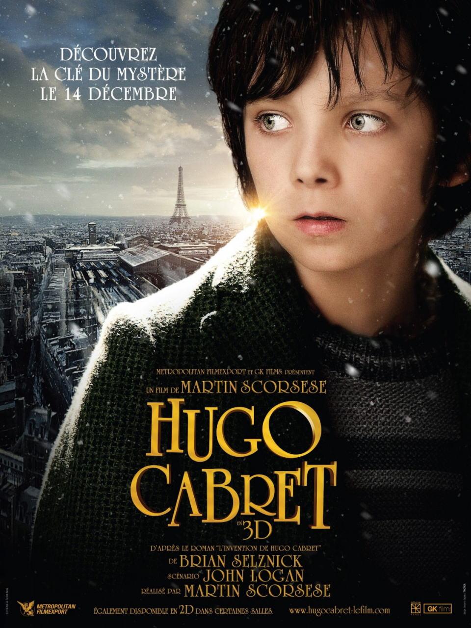 映画『ヒューゴの不思議な発明 HUGO』ポスター(2)
