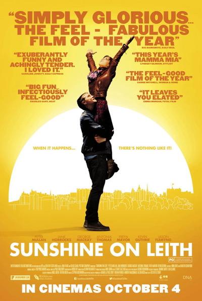 映画『サンシャイン/歌声が響く街 (2013) SUNSHINE ON LEITH』ポスター(1) ▼ポスター画像クリックで拡大します。