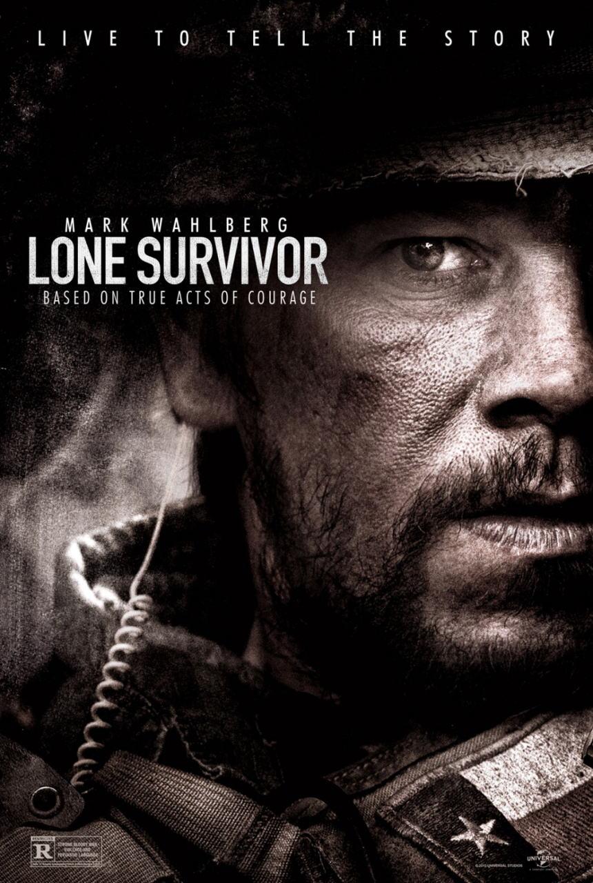 映画『ローン・サバイバー (2013) LONE SURVIVOR』ポスター(1) ▼ポスター画像クリックで拡大します。