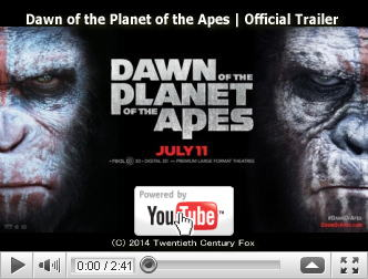 ※クリックでYouTube『猿の惑星:新世紀(ライジング) DAWN OF THE PLANET OF THE APES』予告編へ