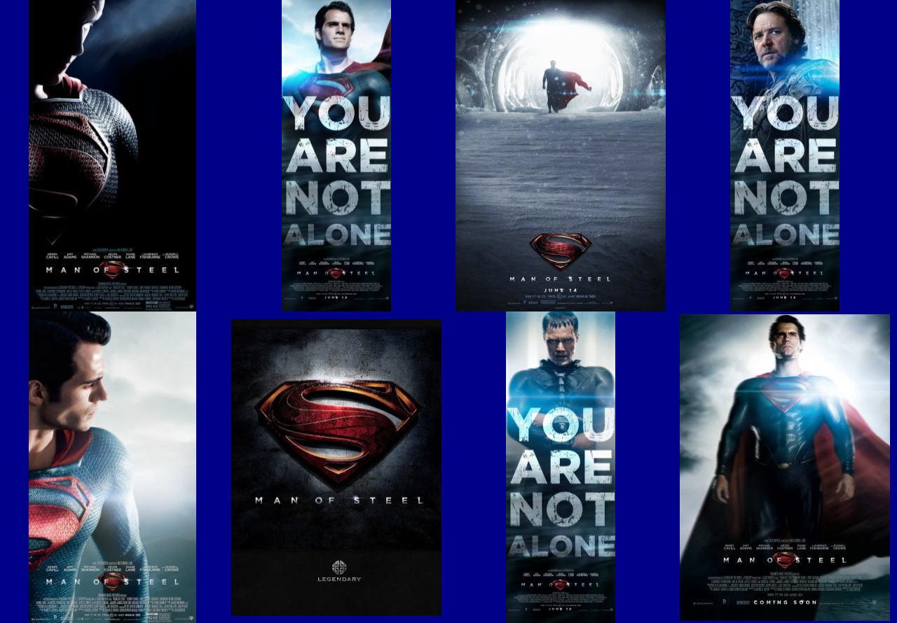 映画『マン・オブ・スティール (2013) MAN OF STEEL』ポスター(9) ▼ポスター画像クリックで拡大します。