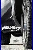 映画『 ワイルド・スピード SKY MISSION (2014) FURIOUS 7 』ポスター