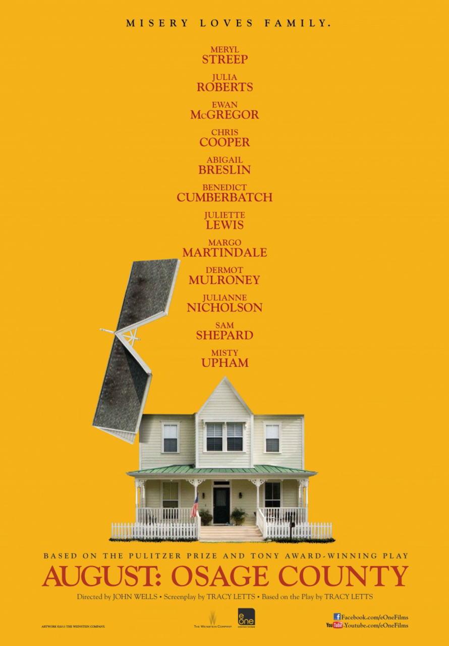 映画『8月の家族たち (2013) AUGUST: OSAGE COUNTY』ポスター(2)▼ポスター画像クリックで拡大します。