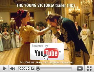 ※クリックでYouTube『ヴィクトリア女王 世紀の愛 THE YOUNG VICTORIA』予告編へ