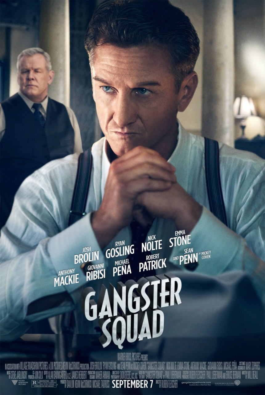 映画『L.A. ギャング ストーリー (2012) GANGSTER SQUAD』ポスター(2)▼ポスター画像クリックで拡大します。