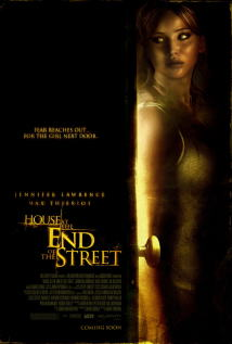 映画『 ボディ・ハント (2012) HOUSE AT THE END OF THE STREET 』ポスター