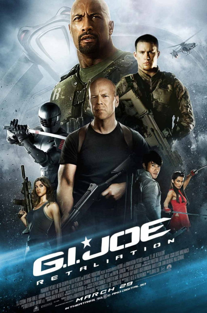 映画『G.I.ジョー バック2リベンジ (2013) G.I. JOE: RETALIATION』ポスター(3) ▼ポスター画像クリックで拡大します。