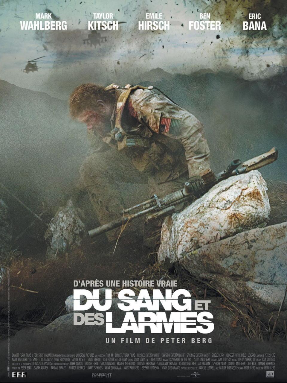 映画『ローン・サバイバー (2013) LONE SURVIVOR』ポスター(2)▼ポスター画像クリックで拡大します。