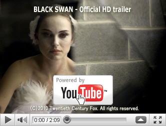 ※クリックでYouTube『ブラック・スワン BLACK SWAN』予告編へ