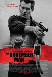 映画『 スパイ・レジェンド (2014) THE NOVEMBER MAN 』ポスター