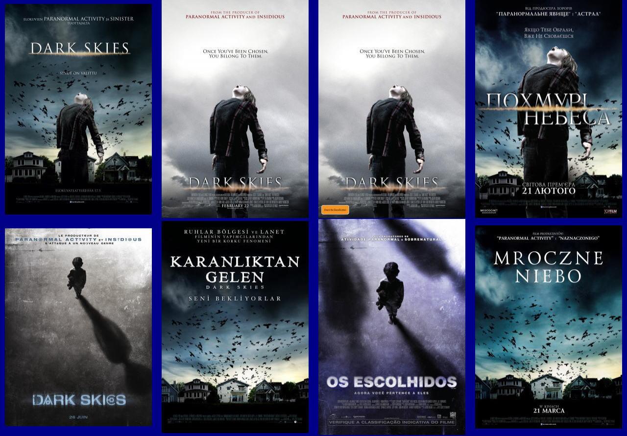 映画『ダークスカイズ (2013) DARK SKIES』ポスター(7)▼ポスター画像クリックで拡大します。