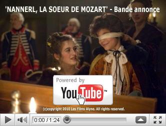 ※クリックでYouTube『ナンネル・モーツァルト 哀しみの旅路 NANNERL, LA SOEUR DE MOZART』予告編へ