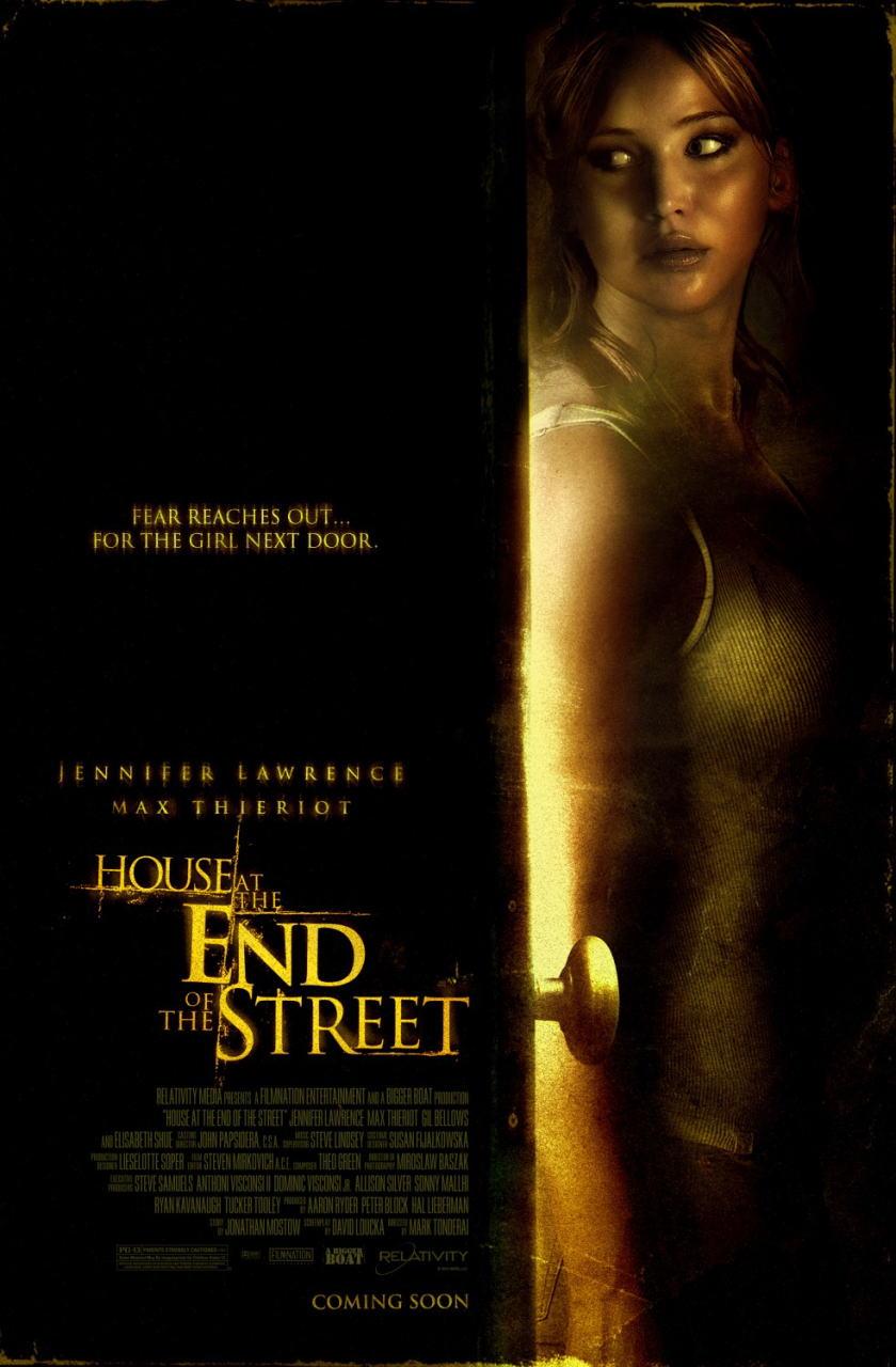 映画『ボディ・ハント HOUSE AT THE END OF THE STREET』ポスター(1)▼ポスター画像クリックで拡大します。