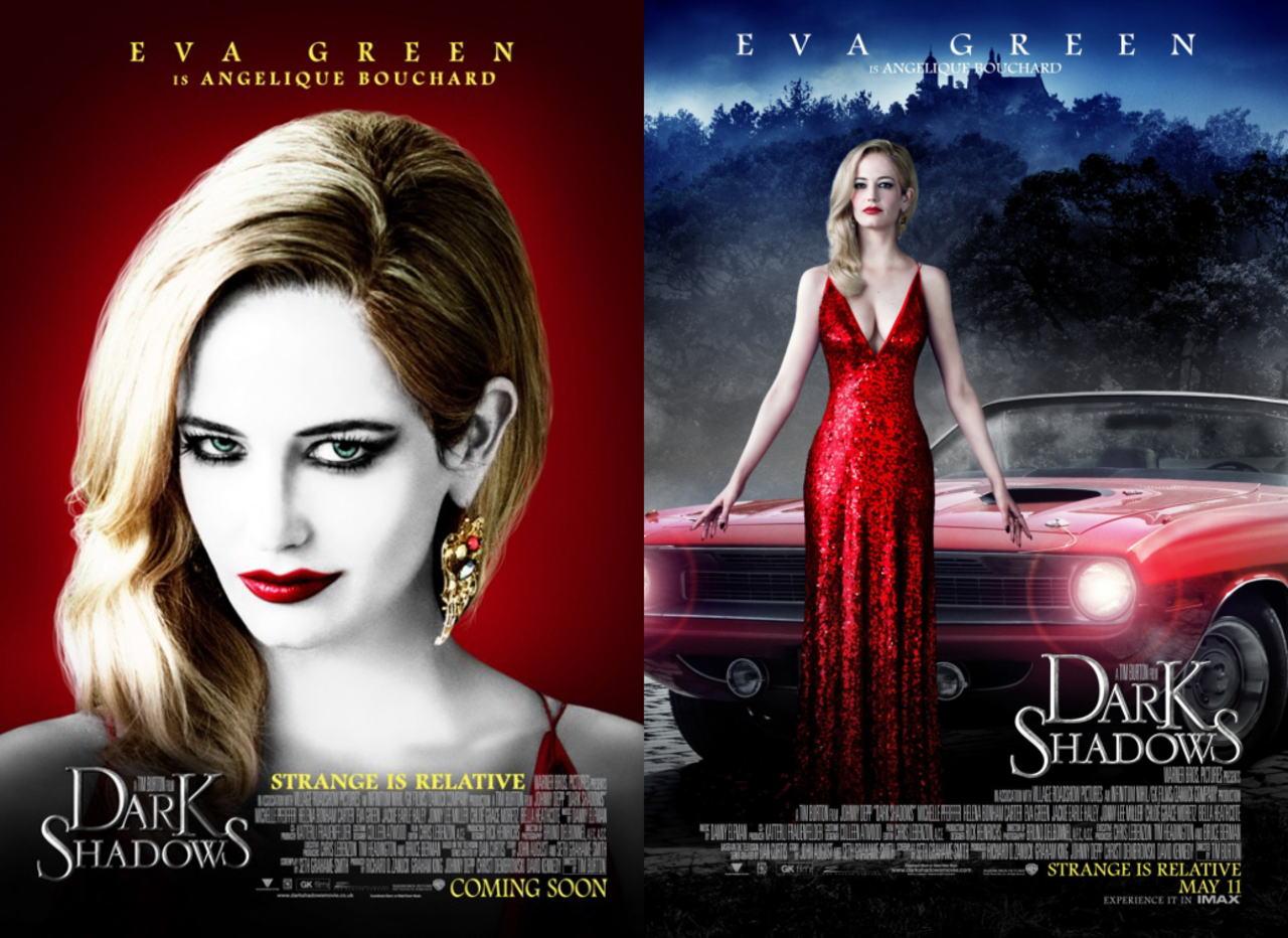 映画『ダーク・シャドウ DARK SHADOWS』ポスター(3) ▼ポスター画像クリックで拡大します。