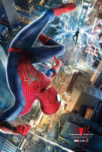 映画『アメイジング・スパイダーマン2 (2014) CAPTAIN AMERICA: THE WINTER SOLDIER』ポスター(2) ▼ポスター画像クリックで拡大します。