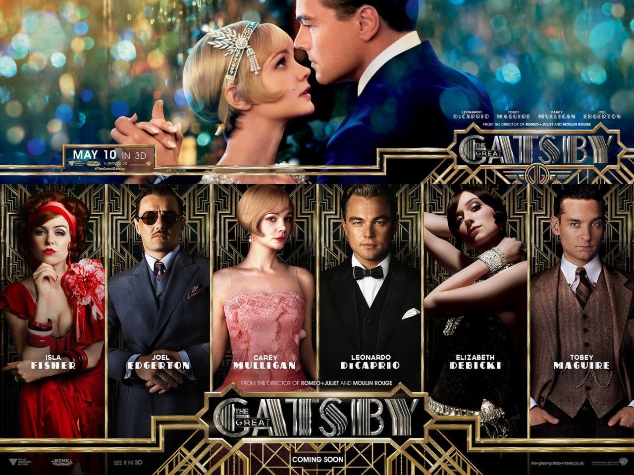 映画『華麗なるギャツビー (2013) THE GREAT GATSBY』ポスター(7) ▼ポスター画像クリックで拡大します。